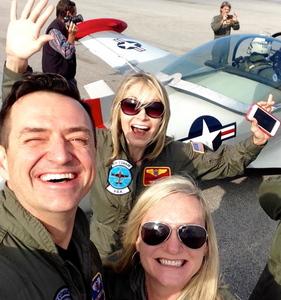 Tonya Cleveland EO Flight